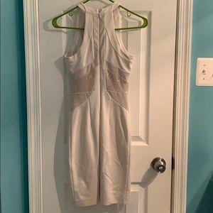 bebe Dresses - Bebe white/nude dress